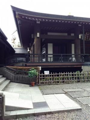 六本木、妙善寺で映画祭